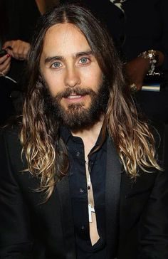 Jared Leto...I love the hair and the beard! I could deal with it :)