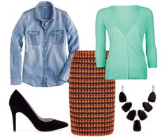 Avoid matchy-matchy outfits this spring and layer interesting pieces for a fun, vibrant look!