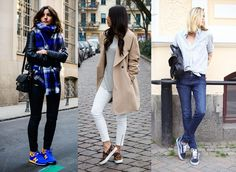 """""""I think I've got enough shoes"""" said no one ever! If you're as crazy about shoes as we are then you will have to agree that you can never have too many pairs. It's been tough, but we've… How To Wear Sneakers, Style Me, This Is Us, Pairs, Seasons, Happy, Summer, Shoes, Clothing"""