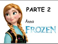 Veja como pintar a Anna do Frozen - parte 1 - YouTube