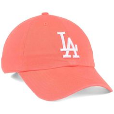 cef5f9e350e Los Angeles Dodgers  47 MLB Grapefruit  47 CLEAN UP Cap ❤ liked on Polyvore