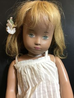 Beautiful gypsum Sasha Morgenthaler Studio Doll, 52 cm with all origial clothing and shoes. Clothing is signed! In very good condition for its age. Über uns 8048 Zurich. Lindenplatz 5. Luxusboerse Zurich. | eBay!