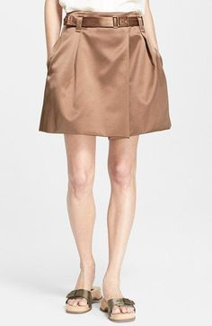 MARC+JACOBS+Duchesse+Satin+Skirt+available+at+#Nordstrom.  $895