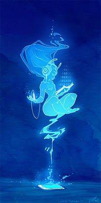 Digital Goddess, by Lissa Treiman