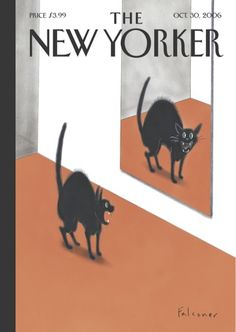 prior pinner:  Copertina - The New Yorker - 30 ottobre 2006 (Ian Falconer).  per me:  love  this!  makes me laugh