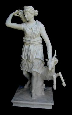 Diana of Versailles statue - Roman and Etruscan Statues - Roman and Etruscan - Civilization