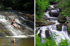 Waterfalls near Highlands NC