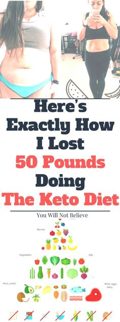 Here's Exactly How I Lost 50 Pounds Doing The Keto Diet