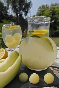 Honeydew, Cantaloupe, Cooking Recipes, Fruit, Drinks, Breakfast, Foods, Lemonade, Drinking