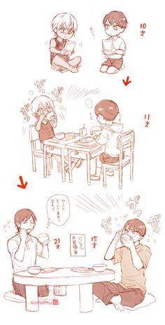 Conan, Magic Kaito, Case Closed, Manga Boy, Detective, Sketches, Animation, Comics, Anime
