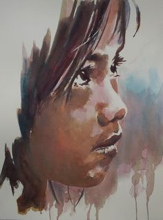 90 Meilleures Images Du Tableau Aquarelle Portraits Watercolour
