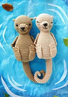 Amigurumi otters - Airali handmade by airali