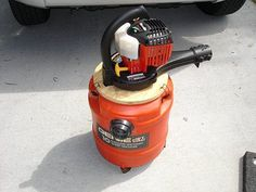 How I built a gas-powered vacuum cleaner for use in gold prospecting