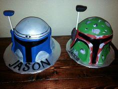 Star Wars Cake - Jango & Boba Fett