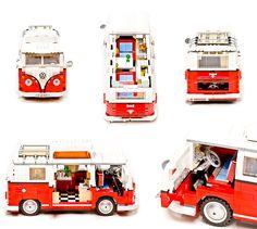 Mixing two classics...Legos and VW Camper
