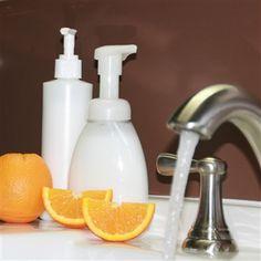 homemade liquid hand soap
