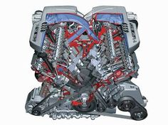 audi w12 engine - Google 検索