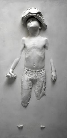 Peace Strike [Update: Boy Soldier by Schoony] war sculpture art history activism