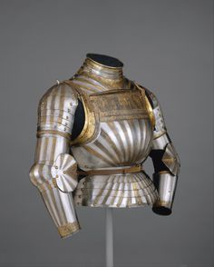 Elements of a Light-Cavalry Armor   Italian, Milan   The Met