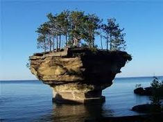 About Turnip Rock in Port Austin | Huron County Parks