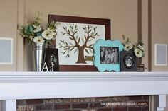 Landee See, Landee Do: Family Heritage Mantel