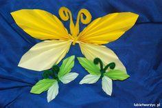 Harmonijkowy motylek z papieru :)   #wiosna #motyle #motylki #ozdoby #dekoracje #dekoracjeprzedszkolne #przedszkole #dekoracjewiosenne #instrukcja #sposobwykonania #lubietworzyc #jakzrobic #DIY #spring #butterfly #decorations #nurseryschool #preschool #kindergarten #instructions #howto