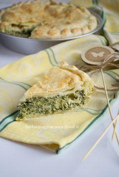 Torta rustica cicoria e ricotta - ricette di Pasqua - rustici