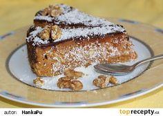 Mrkvovo-jablečný dort recept - TopRecepty.cz French Toast, Baking, Breakfast, Morning Coffee, Bakken, Backen, Sweets, Pastries, Roast