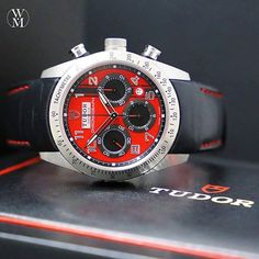 The Tudor Fastrider Chronograph. It's a watch that makes a statement.  #newarrival #tudor