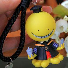 Anime Assassination Classroom Korosensei Figure Pendant Keychain Keyring Yollow #Unbranded
