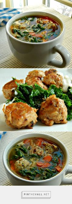 Healthy Italian Wedding Soup with Chicken & Ricotta Meatballs | Frugal ...