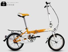 Marca ratón calidad de Hight 16 pulgadas racionalizar bicicleta plegable / bicicleta, acero de alto carbono, cadena de antioxidantes, precio V-brakes.Best