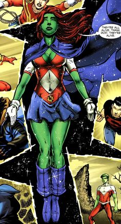 Drawing Dc Comics Miss martian - Superboy And Miss Martian, The Martian, Young Justice, Hq Marvel, Marvel Comics, Marvel Girls, Dc Comics Art, Anime Comics, Character Drawing
