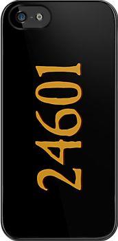 Jean Valjean - 24601 iPhone Case - Les Miserables by meglauren