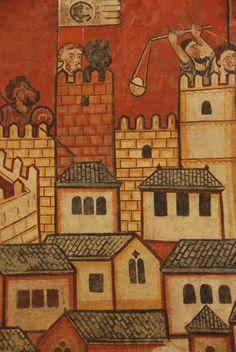 Madinat Mayurca. Pinturas goticas del MNAC procedesntes del Palau Caldes 1280