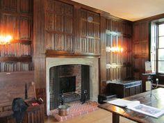 Linen Fold Room, Sutton House.