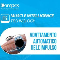 Un vero personal trainer studia il tuo corpo per ottenere i risultati migliori. È quello che fa il Compex, grazie alla Muscle Intelligence Technology #CompexItalia #fit #sport #fitness #training #program  #health #workout #allenamento #gym #like4like #l4l #crossfit #infographic