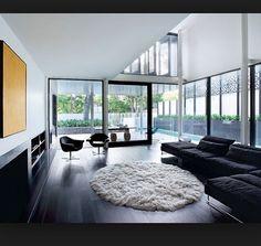 """""""Japan"""" black floorboards"""