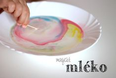 Když už se zkazilo…Magic MILK! Magick, Cotton Candy, Icing, Desserts, Food, Google, Tailgate Desserts, Deserts, Floss Sugar