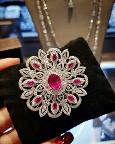 The Ruby brooch Collection #PRIMUSJewelry