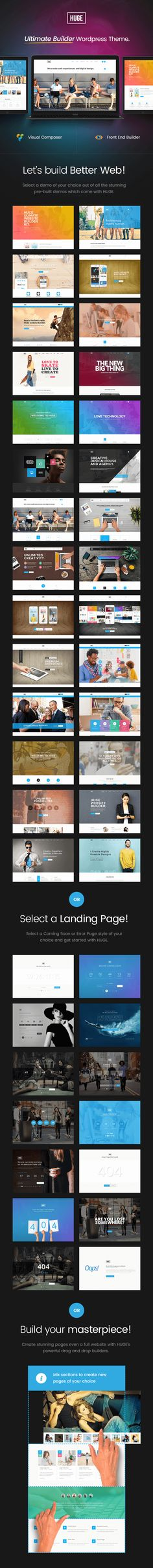 Ultimate Builder WordPress Theme With 30+ Homepage Layouts