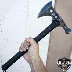Tomahawk axe Sale: For Sale Tomahawk axe Sale Survival Hatchet, Wilderness Survival, Survival Knife, Survival Tips, Paracord Wrap Handle, Camp Axe, Outdoor Survival, Outdoor Camping, Tomahawk Axe