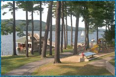 Antigua... Lake George NY Cabins... Remembering summer with my family.