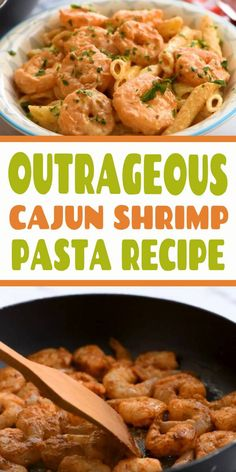 Outrageous Cajun Shrimp Pasta Recipe - Best Hunger Chef Recipes - Appetizers for party Asian Fish Recipes, Recipes With Fish Sauce, Whole30 Fish Recipes, Easy Fish Recipes, Cajun Recipes, Chef Recipes, Salmon Pasta Recipes, Tilapia Fish Recipes, Chicken Recipes