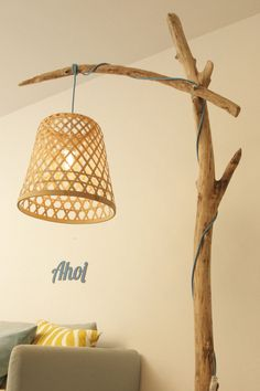 Shoppe hier Deine Treibholz Lampe - Robin Woods - Design Lampe