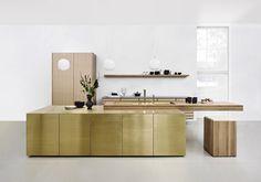 Tendance n°2 : la cuisine dorée