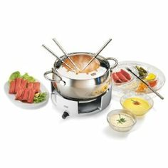 Everything you need for your next fondue party