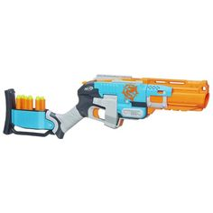 Want to enjoy triple the fire power during your next Nerf battle? Then the Nerf Zombie Strike Sledge Fire Blaster is just what you need. Toys R Us, Kids Toys, Steam Punk, Newest Nerf Guns, Pistola Nerf, Zombie Guns, Cool Nerf Guns, Nerf Toys, Workout Exercises