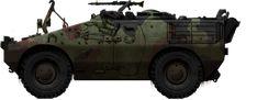 Regio Esercito Italiano Puma 4x4 recce vehicle
