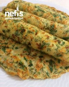 Sebzeli Krep – Nefis Yemek Tarifleri – Mutfak Güllü – Vegan yemek tarifleri – Las recetas más prácticas y fáciles Turkish Recipes, Asian Recipes, Mexican Food Recipes, Best Breakfast Recipes, Brunch Recipes, Yummy Recipes, Pancake Recipes, Vegetable Pancakes, Food Platters